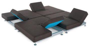 Sof modular de grandes dimensiones decoraci n - Sofa cama carrefour 99 euros ...