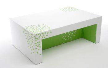mesa mueble carton