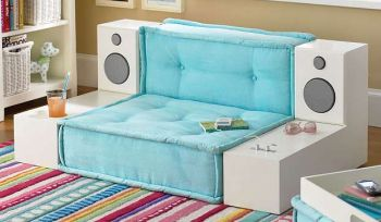 Sillón iPod perfecto para adolescentes – Decoración