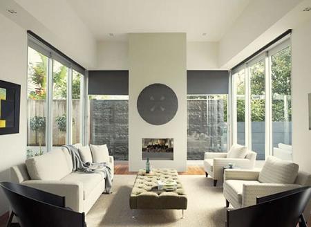 Las lineas rectas dominan las fromas de esta casa modernista de George Architects