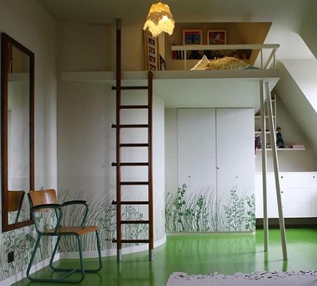 C mo aprovechar el espacio vertical de una habitaci n - Aprovechar espacio habitacion pequena ...