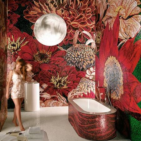 Azulejos de inspiraci n natural para tu cuarto de ba o decoraci n - Azulejos cuarto de bano ...
