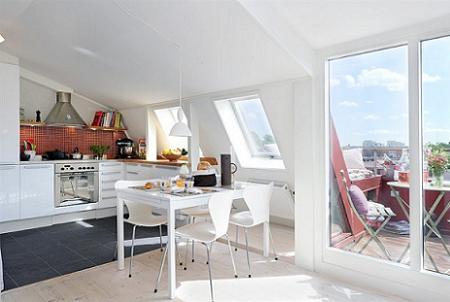 Apartamento peque o moderno acogedor y luminoso decoraci n for Decoracion para apartamentos modernos