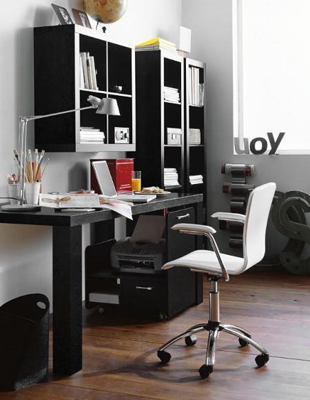 La oficina en casa decoraci n for Imagenes de oficinas en casa