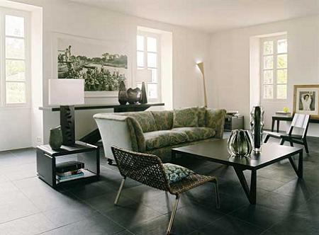 Decoraci n casa de campo reformada con decoraci n moderna - Decoracion moderna salon ...