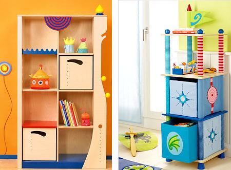 Ideas para el almacenaje de juguetes en habitaciones - Estanterias para guardar juguetes ...