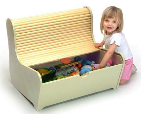 Ideas para el almacenaje de juguetes en habitaciones for Caja almacenaje infantil