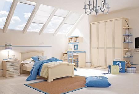 Decoraci n dormitorios infantiles de estilo cl sico - Dormitorios infantiles clasicos ...