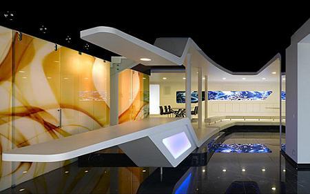 dise o de interiores futurista decoraci n