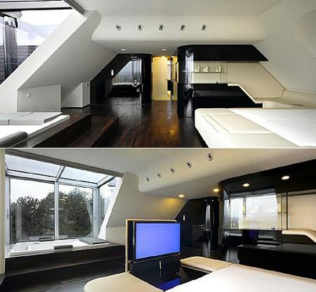 interiores futuristas