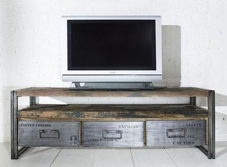 muebles reciclados para un estilo industrial decoraci n