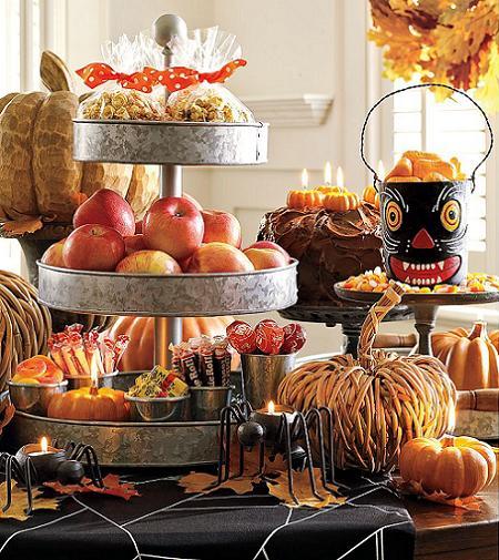 Decorar la mesa para halloween decoraci n - Decoracion mesa halloween ...