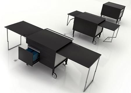 Mueble Extensible Para Oficina Decoraci 243 N