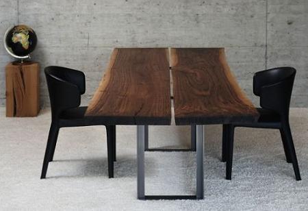 Mesas de comedor de madera maciza – Decoración