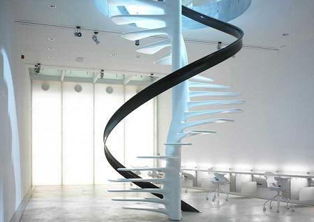 escaleras de espiral