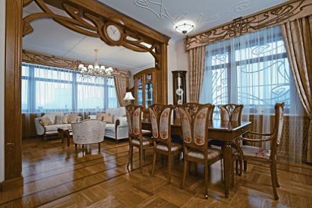 Apartamento de estilo art nouveau decoraci n for Decoracion art nouveau