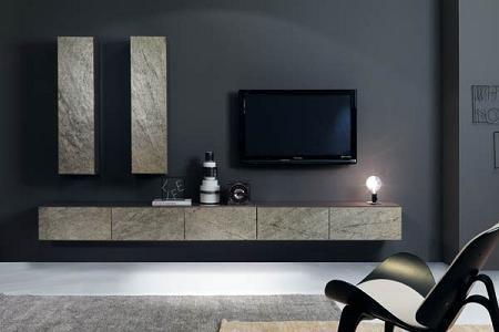 Muebles de piedra para el sal n decoraci n - Muebles de piedra ...