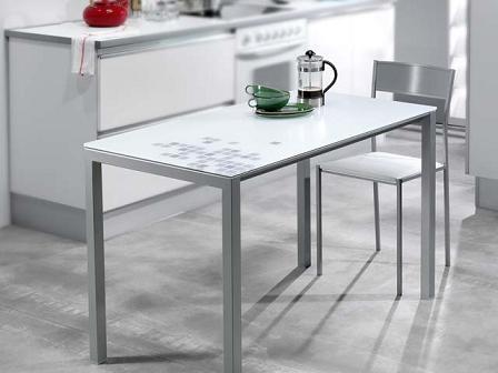 Decoraci n mesas para la cocina propuestas modernas y - Mesas y sillas de cocina modernas ...