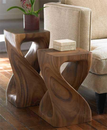Las mesas auxiliares m s originales de viva terra decoraci n - Mesitas auxiliares originales ...
