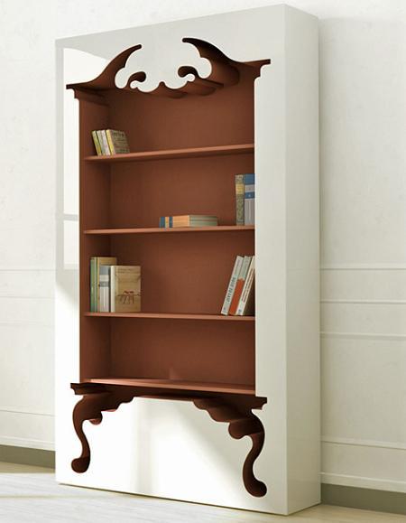 libreria decoracion: