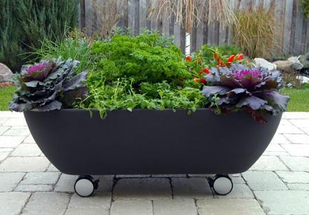 Jardinera para terraza decoraci n - Ideas para jardineras ...