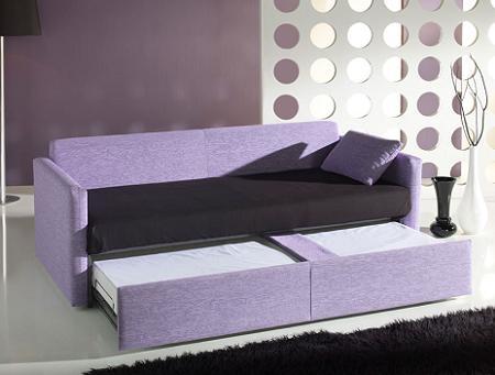 Sof cama nido de goher decoraci n for Sofa cama decoracion