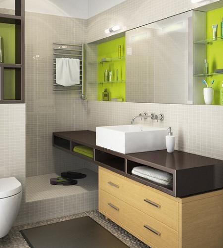 Cuanto Mide Un Baño Con Tina:hablando de luminosidad, es una muy buena idea optar por una pared o