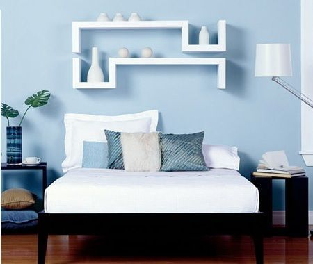 Dormitorios azules decoraci n for Alfombra azul turquesa del dormitorio