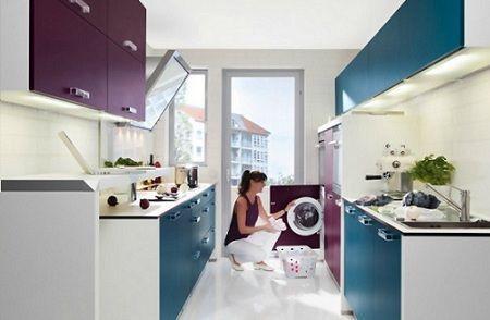10 cocinas color berenjena decoraci n for Cocinas color berenjena