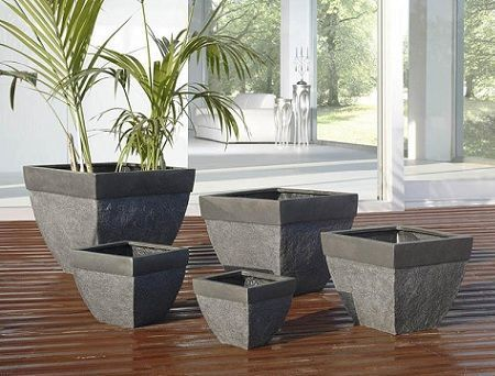 Jardineras de piedra decoraci n for Jardineras para interiores