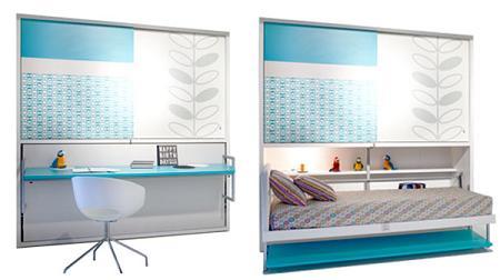 Camas abatibles decoraci n for Mueble cama plegable conforama