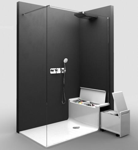 Decoraci n duchas y ba eras con almacenaje - Baneras y duchas ...