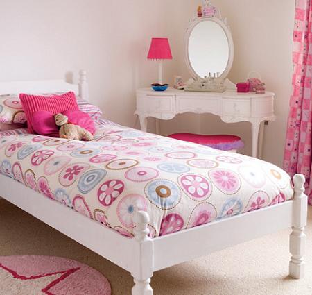 Habitaciones para ni a en rosa decoraci n for Cuarto de nina rosa palido