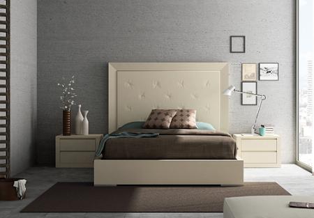 El cabecero de la cama decoraci n - Cabeceros de cama acolchados ...