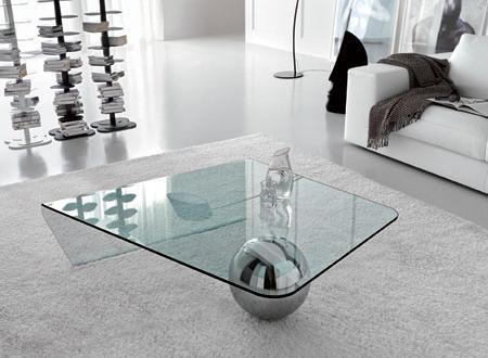 Mesas de centro de vidrio decoraci n for Centro de mesa de cristal