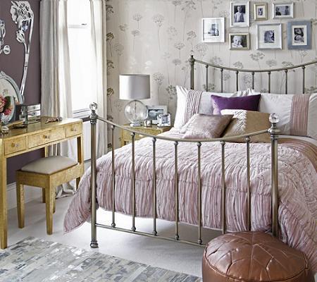 Decoración Un dormitorio muy femenino