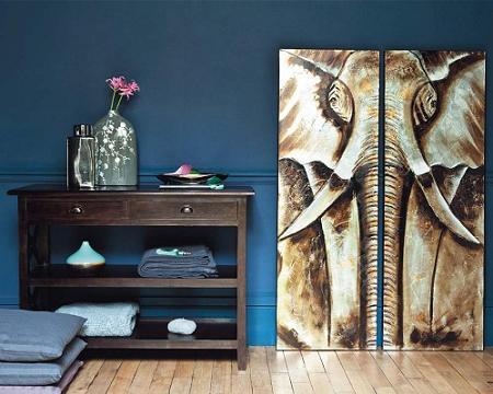 Decoraci n africana decoraci n for Decoracion estilo africano