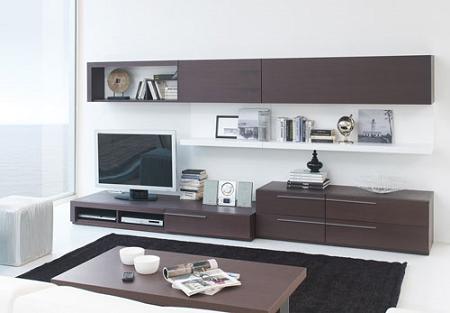 Muebles de wengu decoraci n for Muebles de oficina color wengue