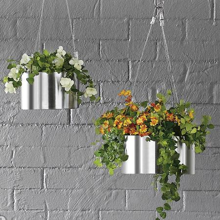 Decoraci n decorar con plantas - Macetas colgantes interior ...