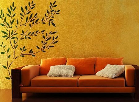 Stencil plantillas para decorar paredes imagui - Plantillas para decorar paredes ...