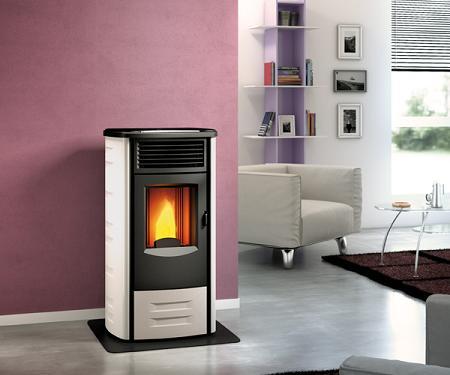 estufas de pellets decoraci n. Black Bedroom Furniture Sets. Home Design Ideas