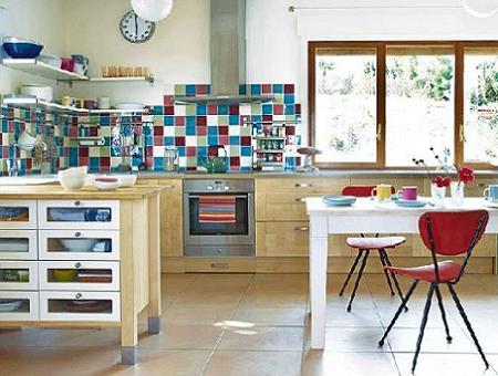 Inspiraci n vintage para la cocina decoraci n for Cocinas antiguas recicladas
