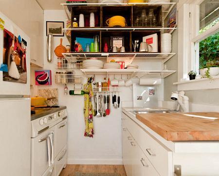 Decoraci n decorar una cocina peque a - Como amueblar una cocina pequena ...