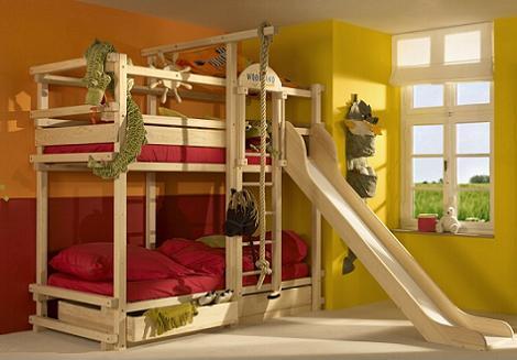 Habitaci n con literas decoraci n for Literas infantiles ikea