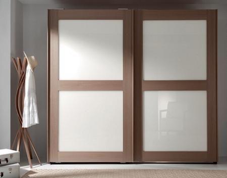 Decoraci n 20 armarios con puertas correderas - Cortinas para puertas correderas ...