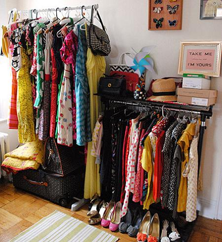 Ideas para un vestidor peque o for Como decorar un buro