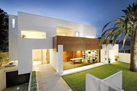 Decoraci n un ejemplo muy sofisticado de casa de ensue o for Decoracion de casas minimalistas fotos