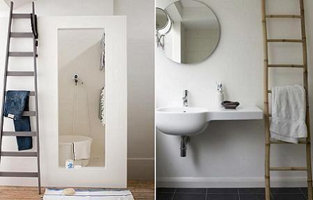 Toallero original para el baño