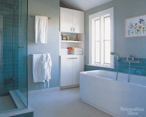 Ba os modernos con ducha decoraci n for Banos con tina y ducha