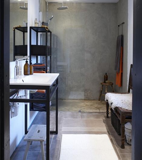 Baños Duchas Modernos:Baños modernos de ducha: el color gris está muy de moda